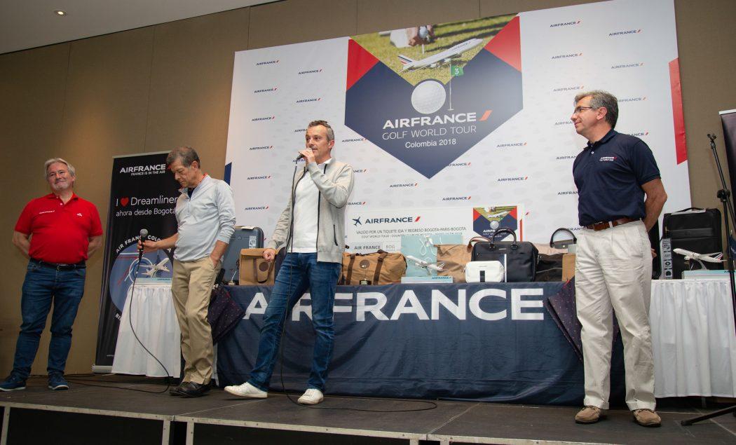 Carlos Durán, Álvaro Puyo, Eric Fonquergne y Gabriel García