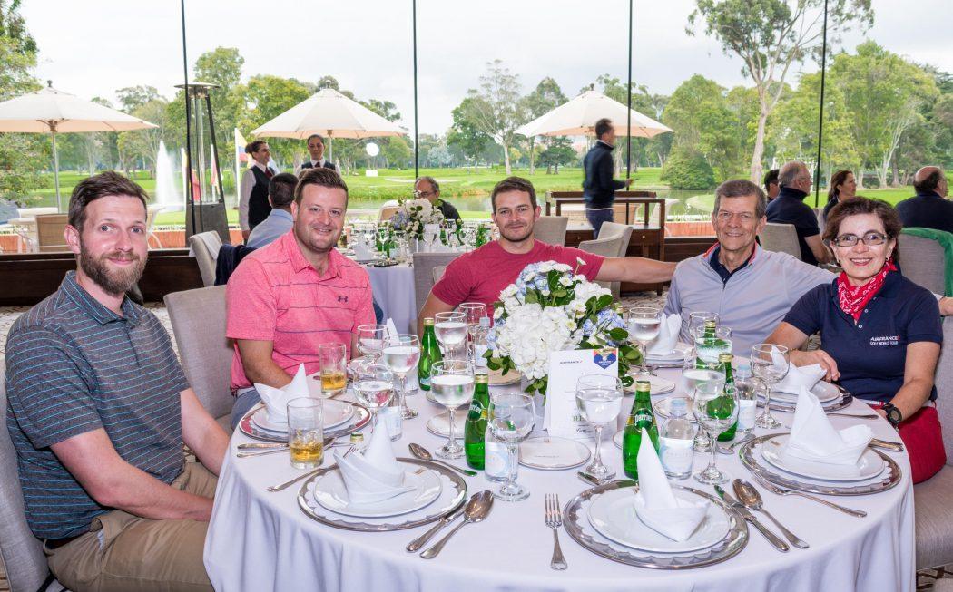Andrew Lupton, Albert Atkins, Sergio Puyo y Álvaro Puyo