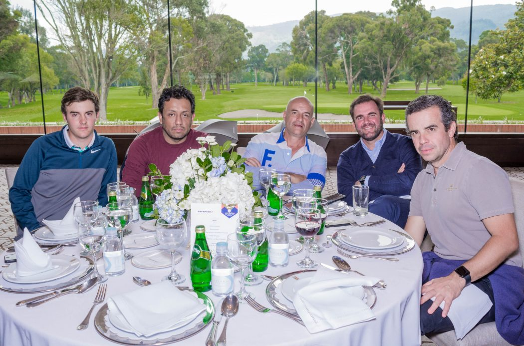 Andreu Ortodo, Álvaro García, Francesc Ortodo, Luis Torres y Borja Díaz de Bustamante