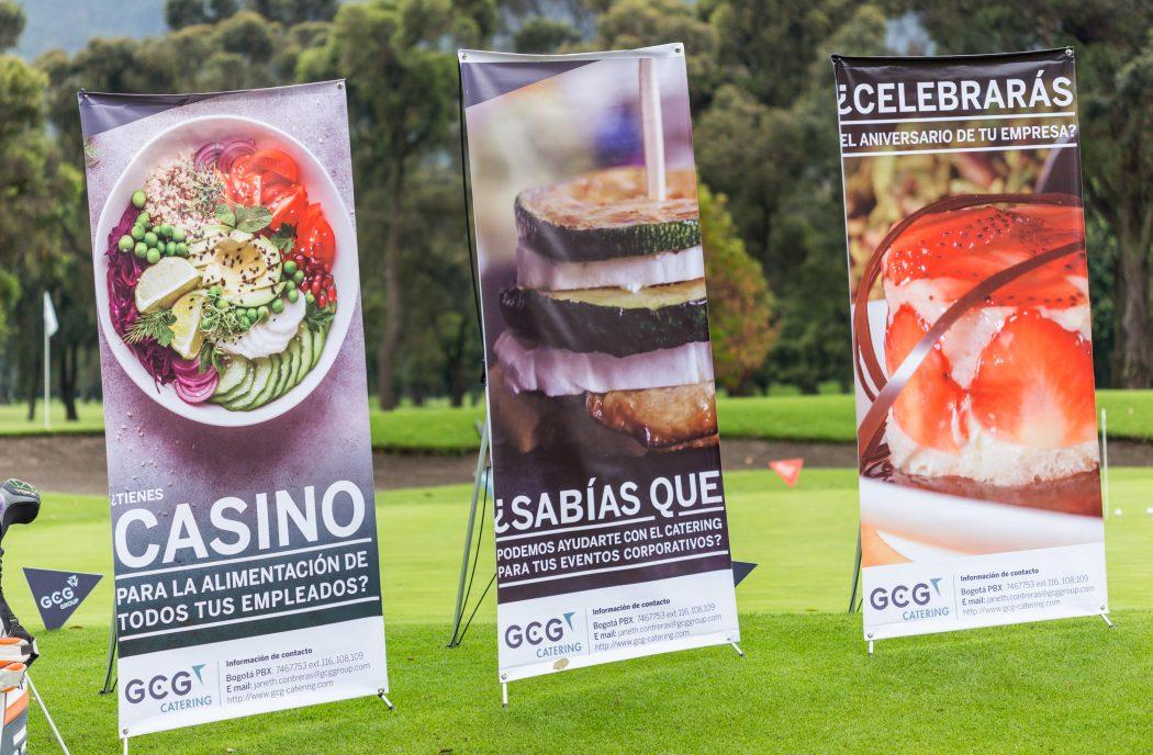 Goddard Catering Group en el Air France Golf World Tour Colombia 2018