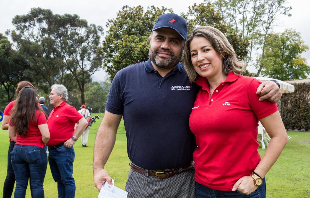 Carlos Murcia y Andrea Peña