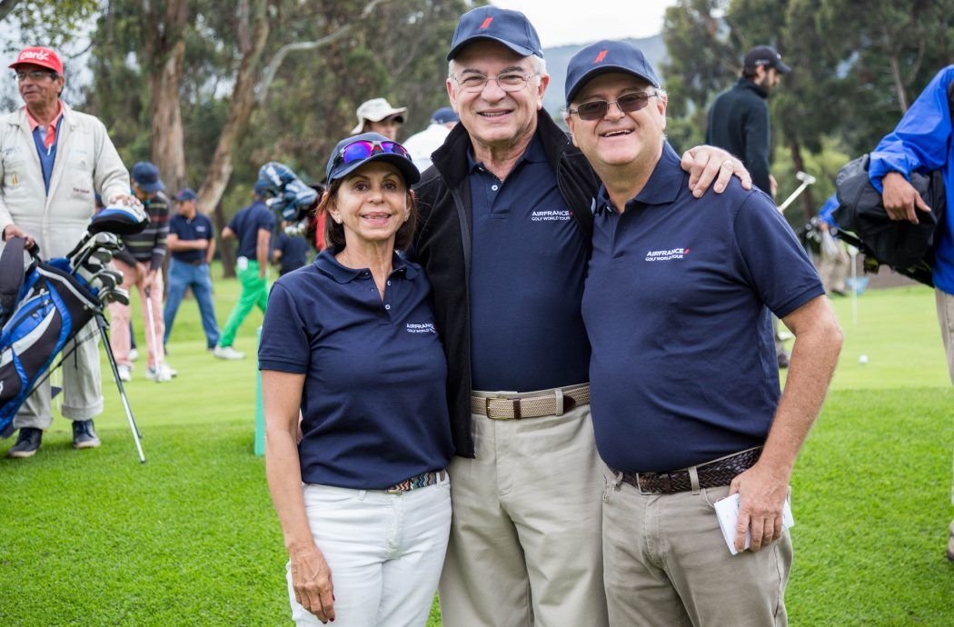 Lexie Crombie, Ricardo Castro y Alfredo Carrasco