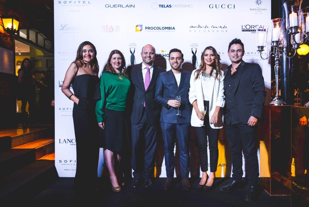 Natalia Morales, Yaddy Monroy, Alberto Mario Rincón, Sebastián Colorado, Luisa Díaz y Diego Cely