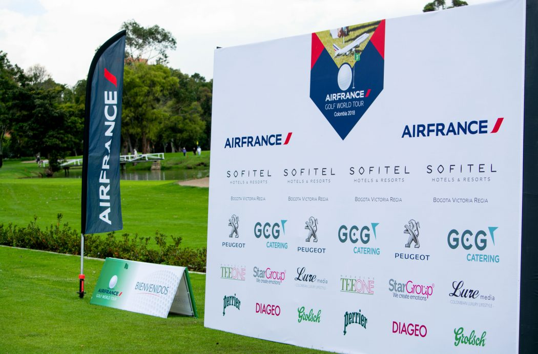 Air France Golf World Tour Colombia, mayo de 2018 Country Club, Bogotá