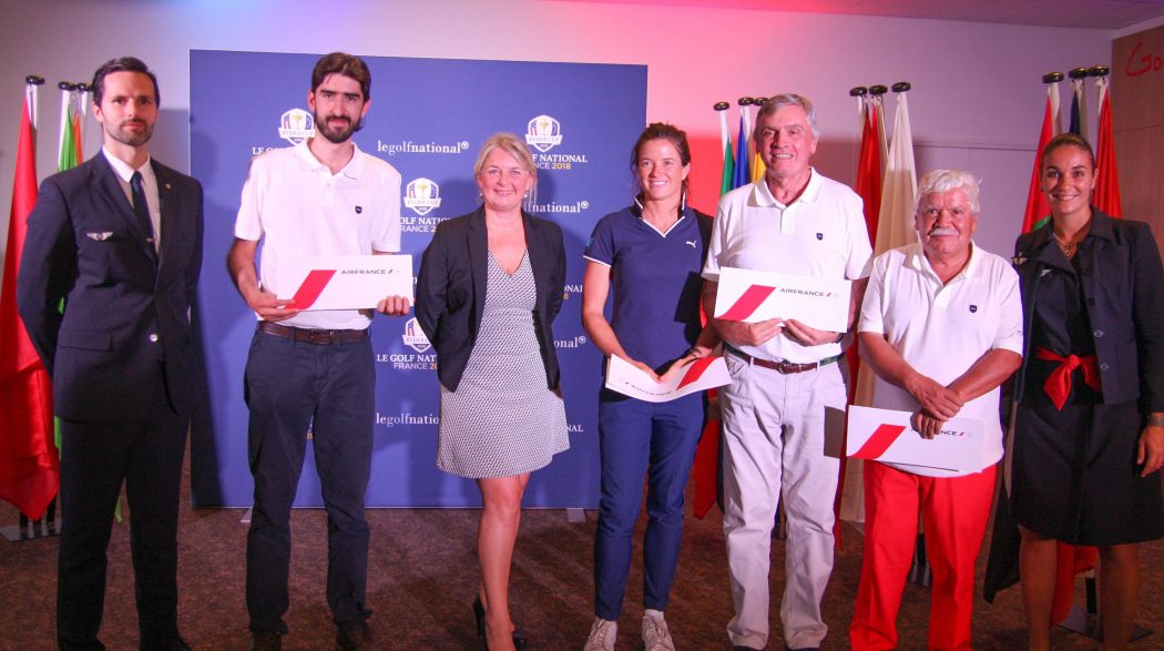 Air France Golf World Tour, París, septiembre de 2018