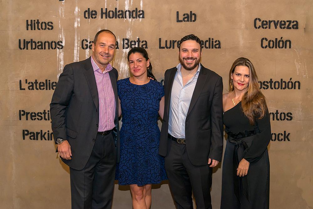 Boris Kruijssen, Daniela Camero Rosso, Eduardo Salazar Yusti y Alexandra Spicker