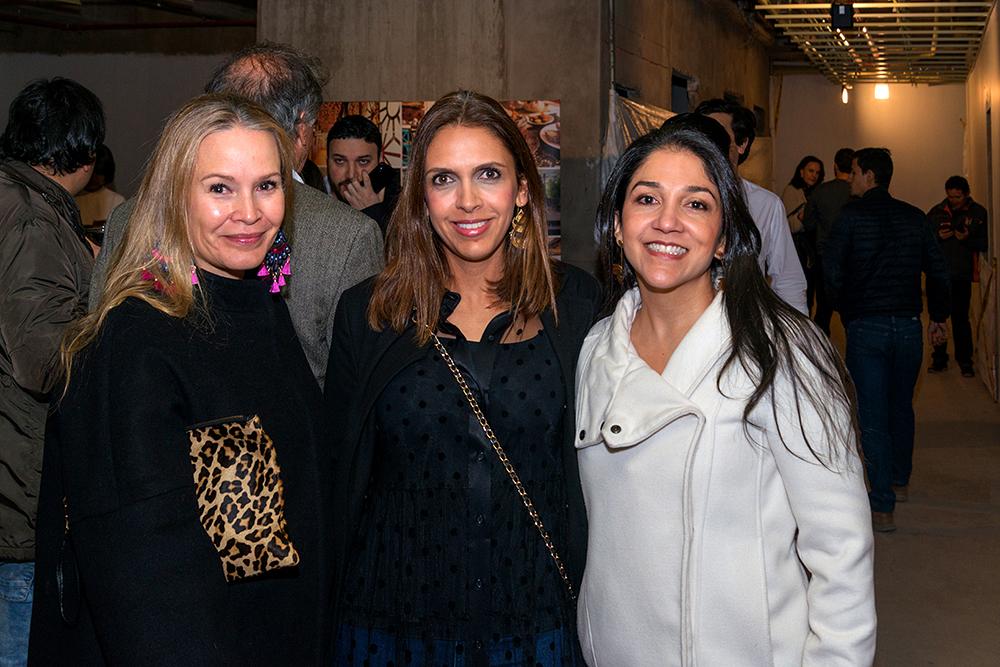 Jessica Spicker, Paola Spicker y Angélica Rodriguez