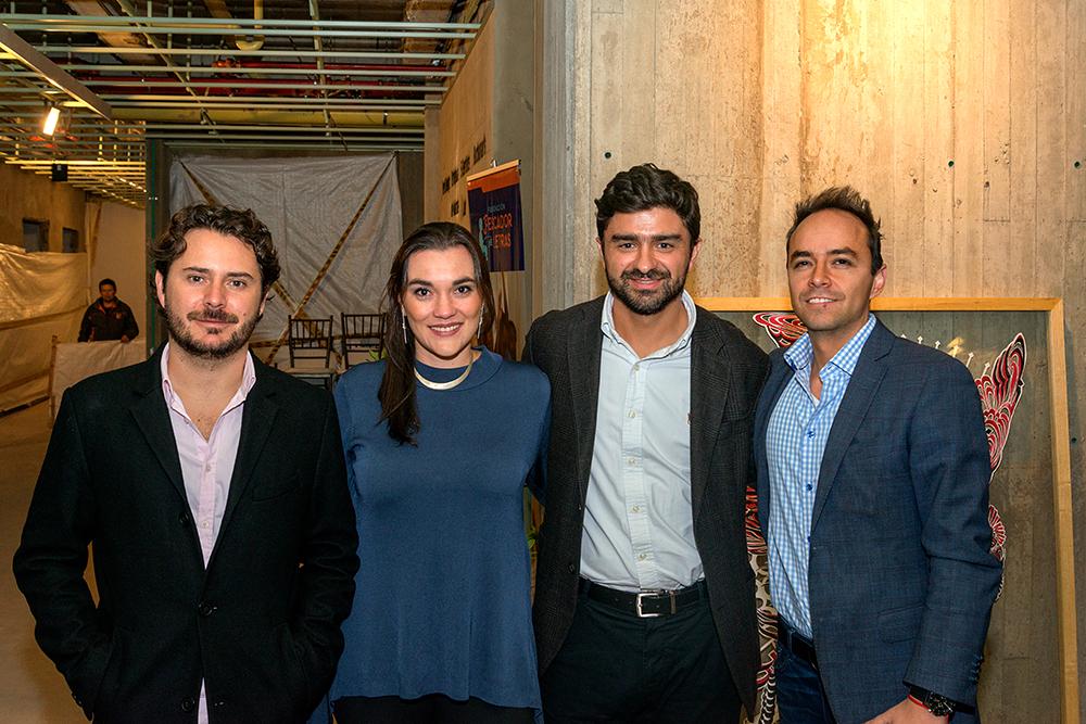 Alejandro Cuellar, Mariana Villegas, Mario Botero, Camilo Vivas