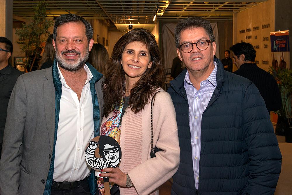 Alejandro Castaño, Maria Isabel Perez y Juan Carlos Ramirez