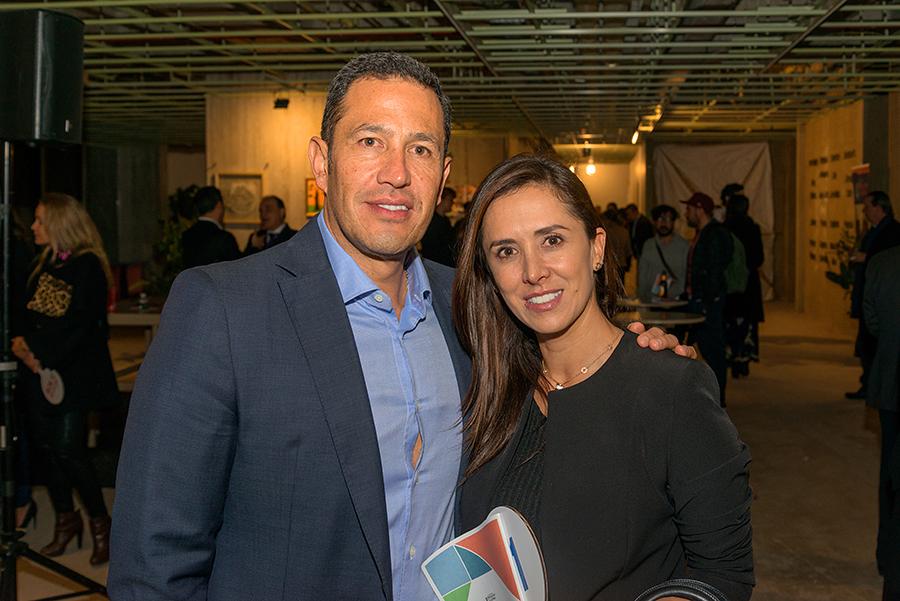 Luis Gutierrez y Gina Bolivar