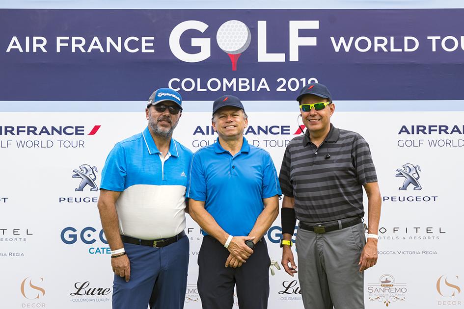 Rafael Lobelo, Rigoberto Jaramillo y Alejandro Sanín
