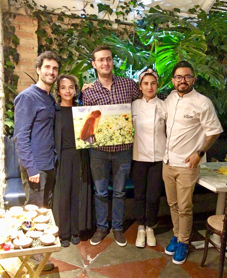 Alejandro Moreno, Ana María Muñoz, Ganador, María Angélica Bernal y Rodrigo Pazos