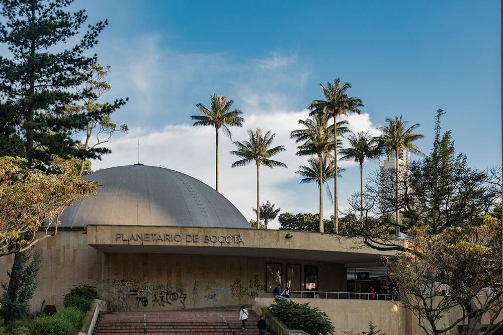 <center align>El Planetario de Bogotá</center align>