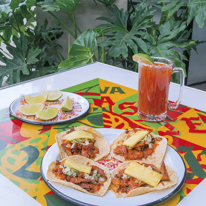 Tour Gastronómico -Tacos al pastor   $7.500 c/u y michelada   $11.000
