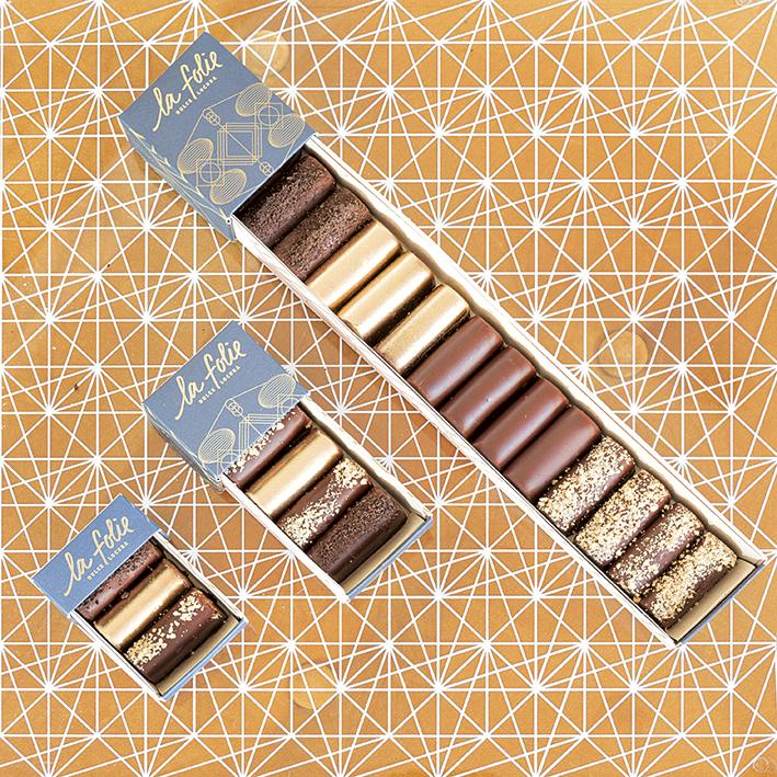 Tour Gastronómico - Deditos de brownie cubiertos de  chocolate semiamargo   $30.000